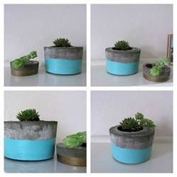 Ideas Design For Cement Planters Concept Diy Concrete Planter L Style Curator Shows You How