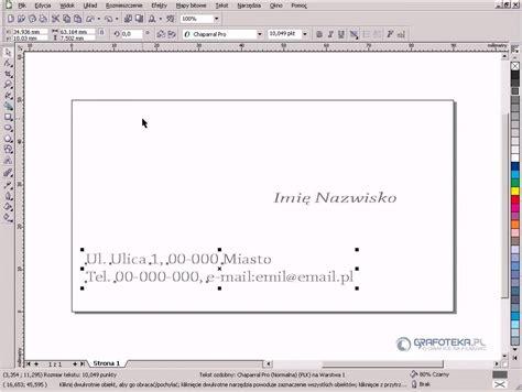 corel draw x3 tutorial youtube coreldraw x3 tutorial projektowanie wizyt 243 wki youtube