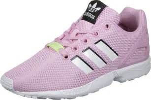 adidas zx flux j w shoes pink