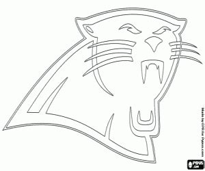 carolina panthers coloring pages nfl logos coloring pages printable 2