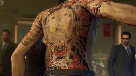 tattoo cu ng yakuza hidenori shoji pledge of demon yakuza 0 soundtrack