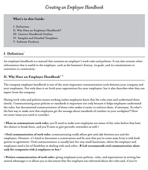 Lsm Ru Slip Images Usseek Com Employee Handbook Template For Small Business