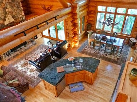 log homes open floor plans floor plans and flooring ideas