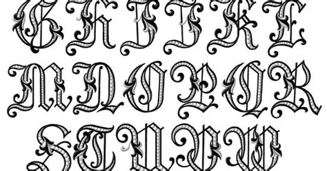 victorian tattoo lettering letters lettering pinterest tattoo fonts victorian