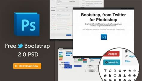 template photoshop bootstrap 13 resources to design for bootstrap vandelay design
