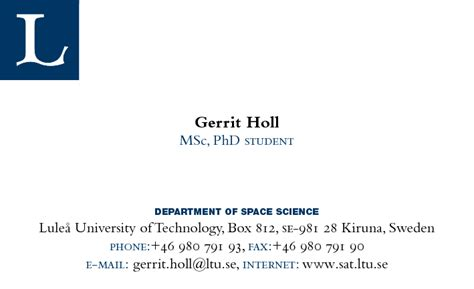 Phd Student Business Card conference business cards for graduate students