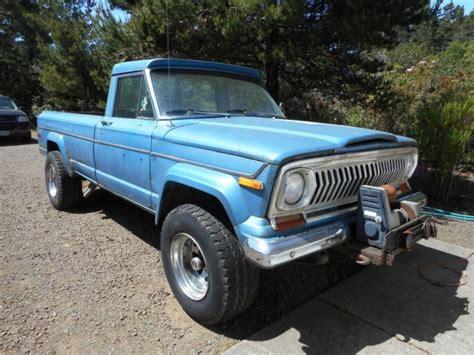 1975 Jeep J10 For Sale 1975 Jeep J10 Bed 4x4 Classic Jeep J10 1975