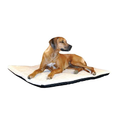 heated dog beds k h pet products ortho thermo extra large cream non slip