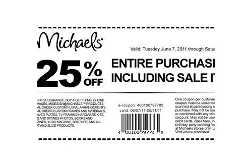 canada coupons michaels
