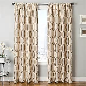 jc drapery jcpenney dover rod pocket curtain panel