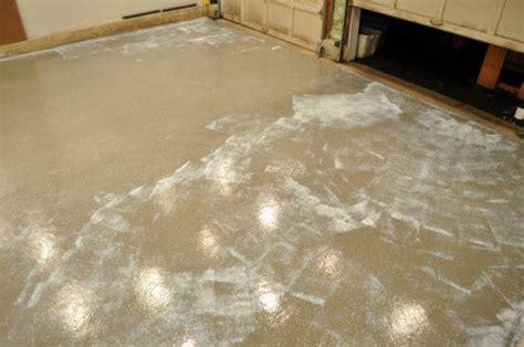 how to paint an epoxy concrete floor coating quikrete