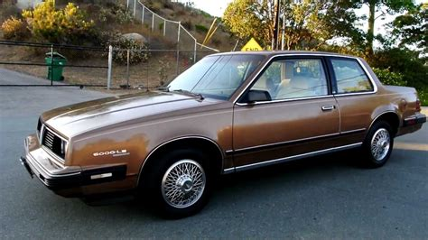 car owners manuals for sale 1984 pontiac 6000 electronic throttle control 1 owner pontiac 6000 le 2 dr coupe 63 000 orig miles youngtimer for sale import youtube