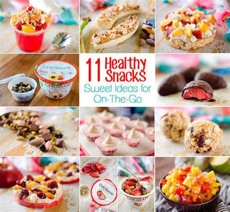 healthy treats for 11 on the go healthy snack recipes s running