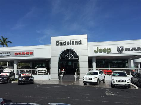 Dadeland Jeep Dadeland Dodge Chrysler Jeep Ram In Miami Dadeland Dodge