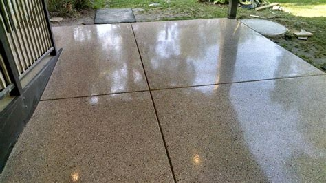 patio ideas attentiveness pea gravel epoxy patio