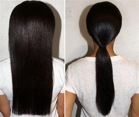 no heat challenge relaxed hair fresh lengths how i grew relaxed hair