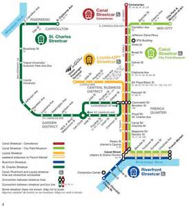new orleans streetcar routes st charles riverfront