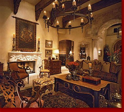 Tuscan Style Living Rooms | rti tuscan villa living room design bookmark 8775