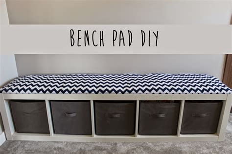 how to cushion a bench how to make a diy bench cushion oh my creative
