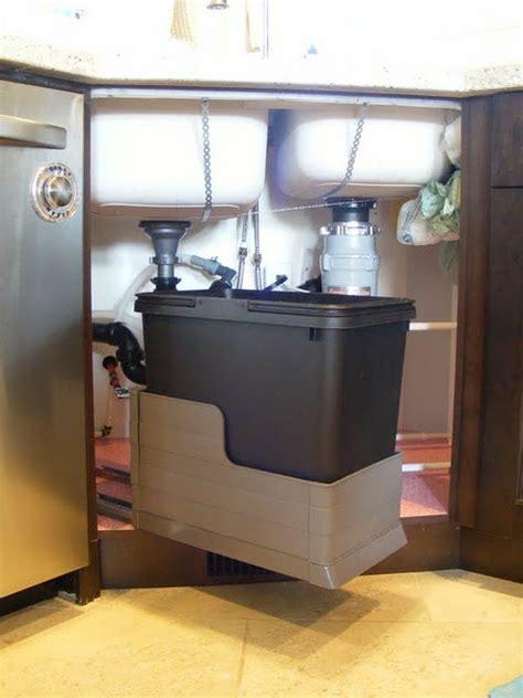 under sink recycling bin recycling bin under the sink kitchen ideas pinterest