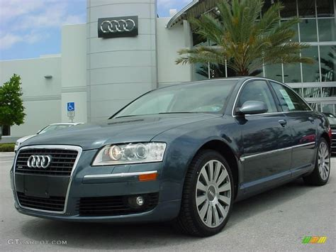 Audi A8 2007 by 2007 Northern Blue Pearl Effect Audi A8 4 2 Quattro