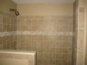 Tile For Bathroom Shower Walls Shower Half Wall Tile Bathroom Renovations
