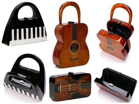 holiday gift idea handbags for music lovers