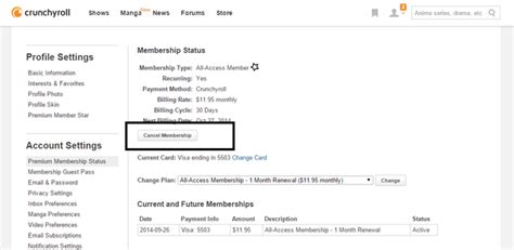 crunchyroll membership crunchyroll forum alternative payment options