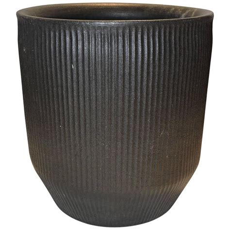 Architectural Planter by Modernist Architectural Pottery Planter Attributed To