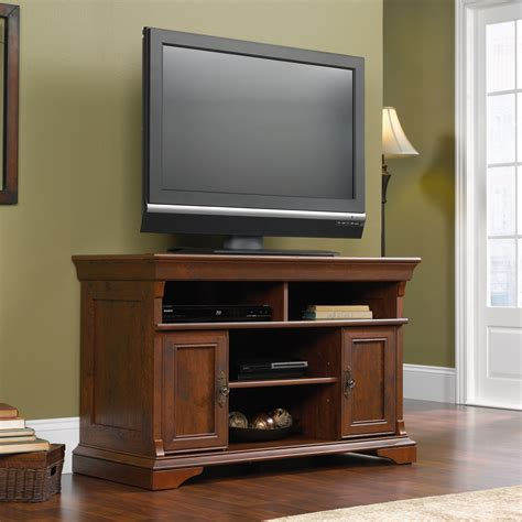 Sauder Furniture Tv Stand by Sauder 404729 Arbor Gate Panel Tv Stand At Atg Stores
