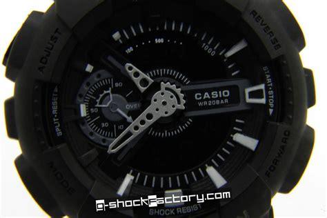 G Shock Ga110 Black g shock ga 110 matte black by www g