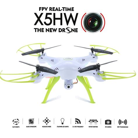 New Drone Quadcopter Syma X5hw Wifi Fpv Altitude Hold Jakartah goolrc syma x5hw wifi fpv drone hd rc quadcopter with 360 176 eversion ebay