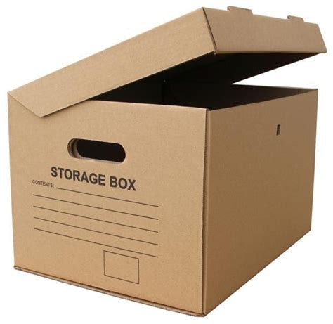 Lottemart T Box File Karton A4 cardboard storage boxes can help you stay organized