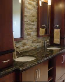 bathroom modern tile ideas backsplash: bathroom vanities modern bathroom stone backsplash modern bathroom