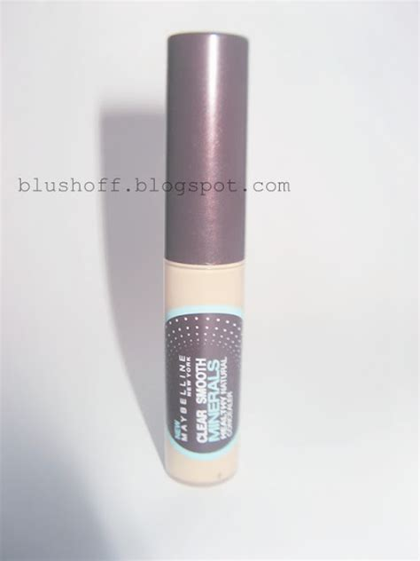 Maybelline Clear Smooth Minerals Healthy Concealer maybelline clear smooth minerals healthy concealer