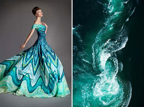 fashion themes related to nature fashion inspired by nature russian artist compares famous