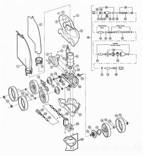 polaris 380 parts diagram polaris 480 parts diagram my pool