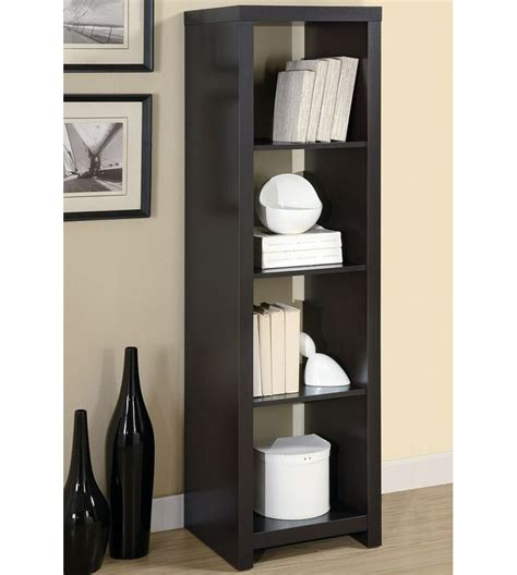 tall narrow corner bookcase tall and narrow bookcase roselawnlutheran