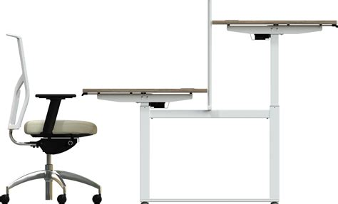 electronic hirise sit stand desk chrystal hill ltd