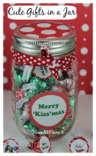 Unique Christmas Gifts by Unique Handmade Christmas Gifts Kiss Mas Gift In A Jar