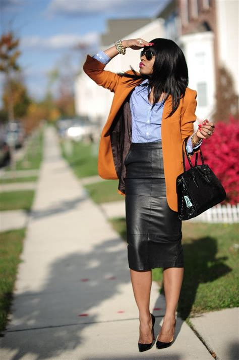 9 ways to look stylish in leather skirt 1001