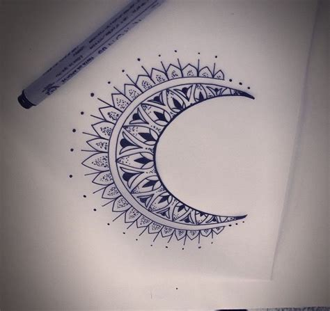 half moon tattoo designs best 25 half moon ideas on small moon