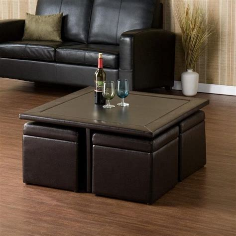 Coffee Table With Seats Underneath Product Flamant Coffee Table With Seating Underneath