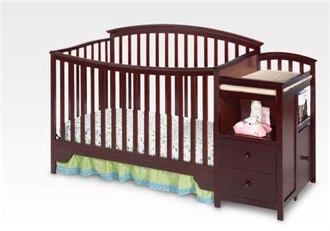 sonoma crib n changer espresso cherry by delta children