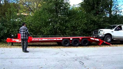 sale equipment trailer  ton price reduced super