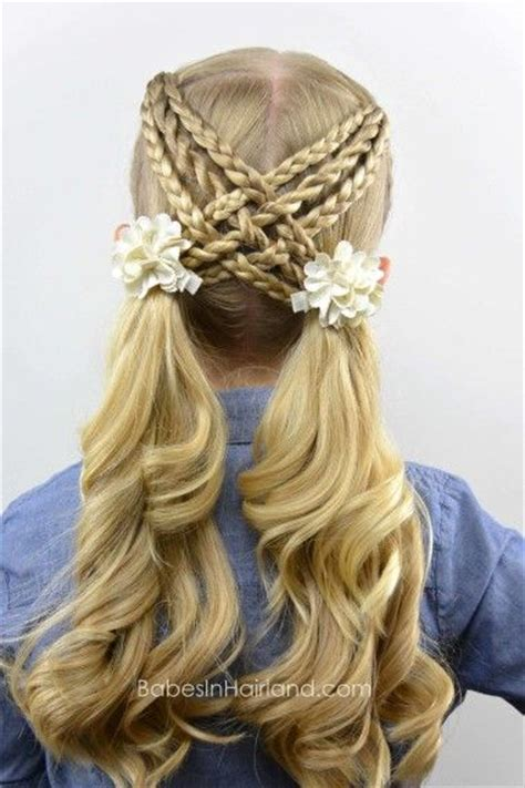 easy hairstyles for school that you can do yourself coiffure petites filles les meilleurs mod 232 les coiffure