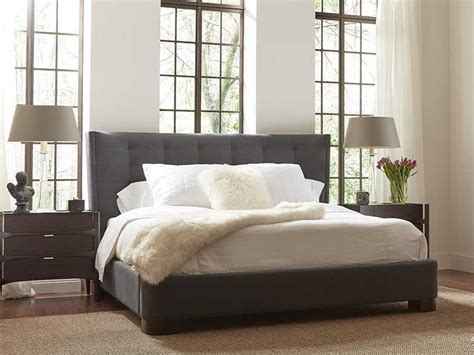 brownstone furniture emerson platform bed bedroom set