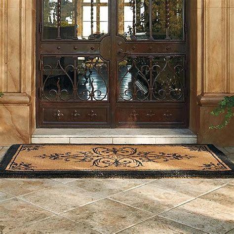Frontgate Front Door Mats Brentwood Coco Door Mat 30 Quot X 48 Quot Frontgate Traditional Doormats By Frontgate