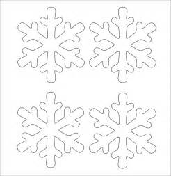 templates for snowflakes snowflake template 11 free pdf