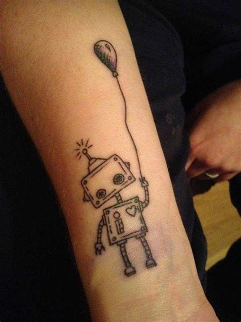 robot tattoo robot tattoos artificially intelligent 171